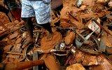 斯里兰卡洪水和山体滑坡已致91人死亡