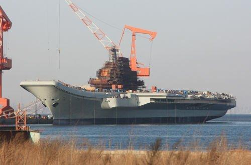 中国第一艘航母将试航 筹建6万吨核动力航母
