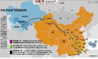 土库曼斯坦年供中国天然气将达650亿方