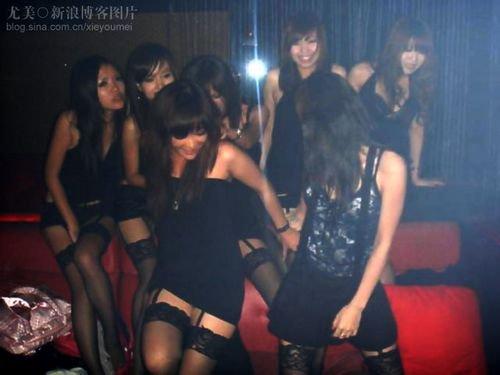 细数酒吧夜场及私人会所里的那些女人
