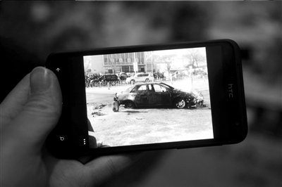 河北丰宁男子驾车撞伤13名学生 肇事后点燃汽车