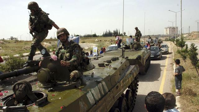 叙政府军敦促阿勒颇守军退却:留下死路一条