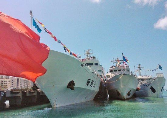 中国3艘海巡船赴南海执法