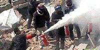 村民遭拆迁人员持灭火器喷射殴打