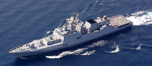 印度第二批俄制塔尔瓦级护卫舰首舰月底下水