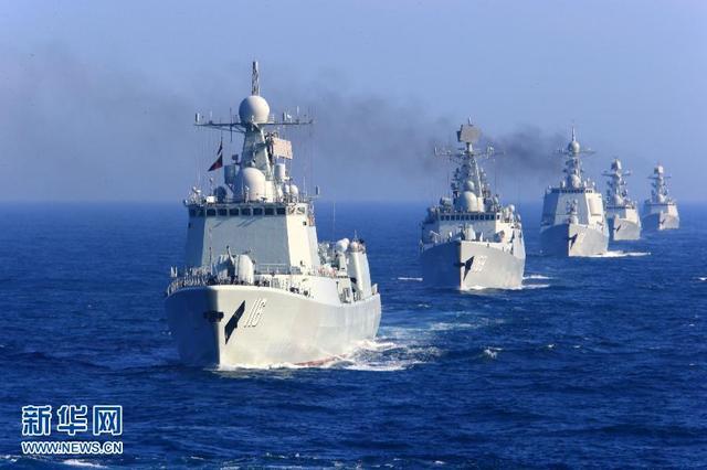外媒:中国要建500舰超级海军 局部战力远