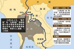 湄公河血案示意图
