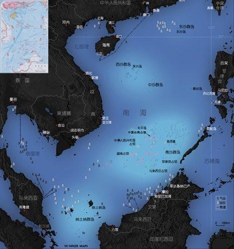 南海油气资源丰富