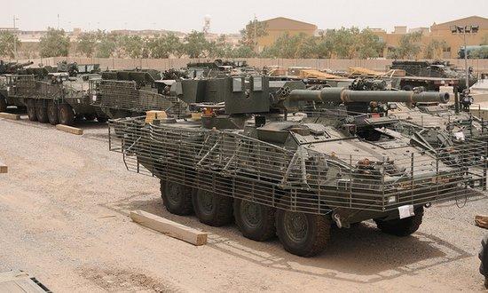 """美军""""斯特赖克""""战车被批太烧钱 浪费导致缺钱"""