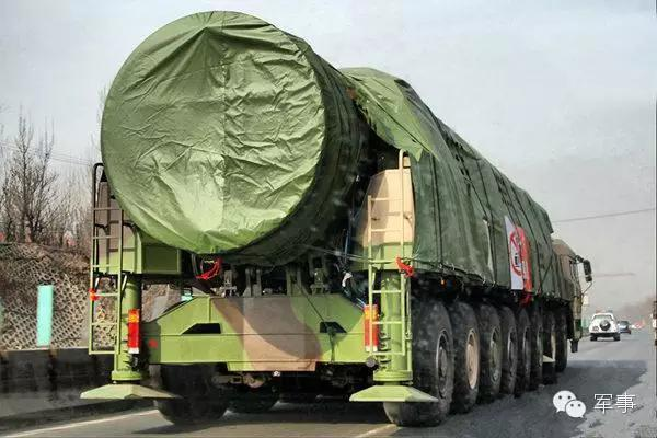 媒体:中国试验新型洲际弹道导弹