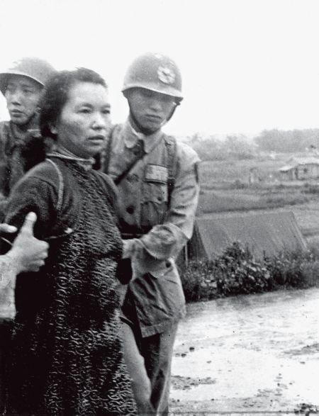 1950年6月被押赴刑场的朱湛之