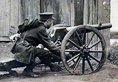 1911年,在武汉激战的革命军和清军