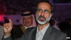 叙反对派统一联盟选出领导人 系温和派人士(图)