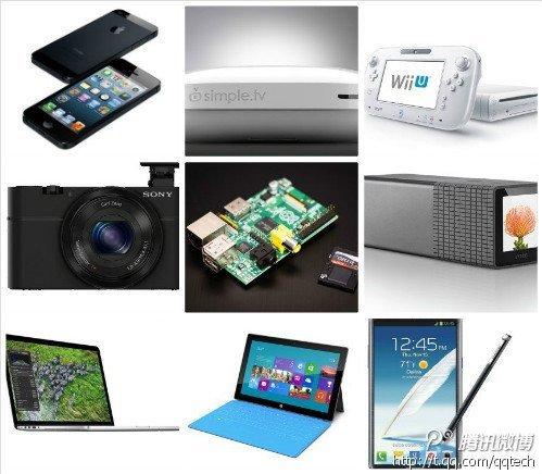 《时代》评出2012年十大科技产品 iPhone5居首