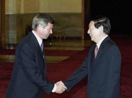 外交部:不必过多解读挪威前首相签证被拒一事