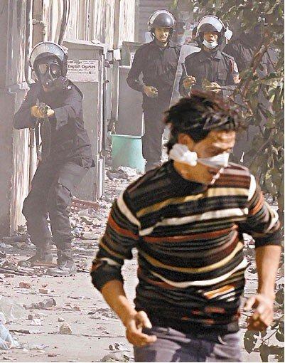 競彩足球網站-視頻曝光埃軍警瞄準示威者眼睛開槍 舉國震怒