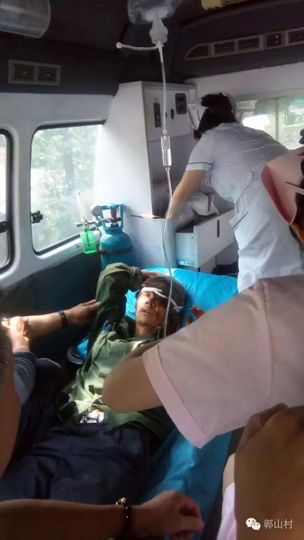 江西婺源村民上山途中遭狗熊袭击 装死逃过一劫