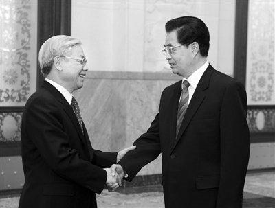 中越签署解决海上问题协议 双方应商谈共同开发