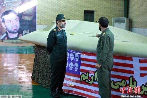 伊朗称将会仿制缴获美军RQ-170隐身无人机
