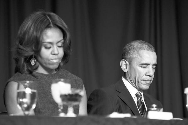 """奥巴马和达赖共同出席早餐会 称达赖为""""好朋友"""""""