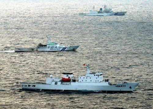日针对中国渔政船驶入钓鱼岛水域设紧急联络室