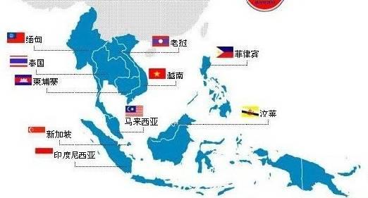 东南亚地图高清全图-危险 中国人避开国外这19个地方