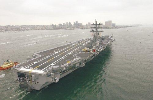 美三艘航母集结东亚 专家称美拟在亚太部署六艘
