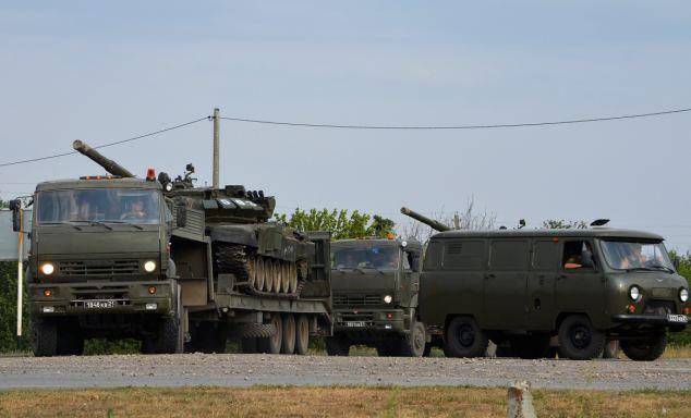 最新证据显示俄罗斯或向乌克兰亲俄势力提供军援