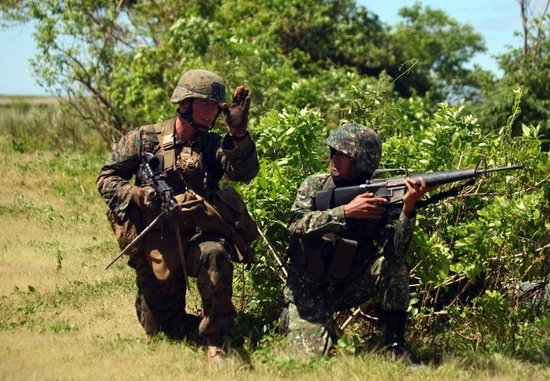 美菲联合军演今展开 美国被指频频插手南海事务