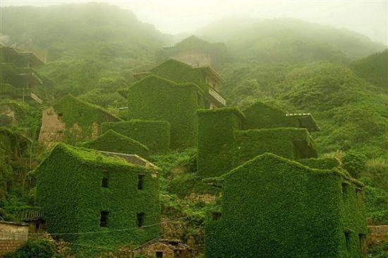 浙江海岛荒村宛如童话世界 有人欲以百万售房