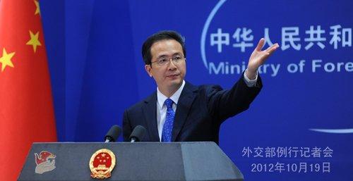 中国外交部回应海军在东海举行大规模维权演习
