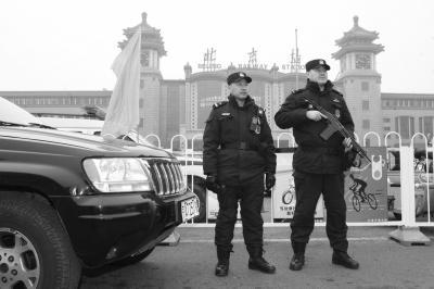 全国春运昨日突破8000万人次 北京7000铁警停休