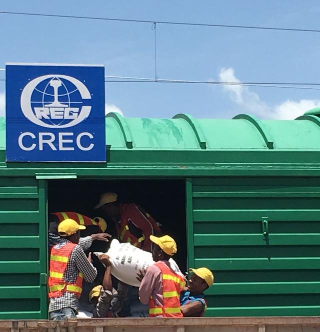 亚吉铁路运输救灾物资近9万吨 获埃塞认可