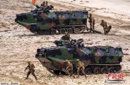 """日美军演首加新安保法内容 将演练""""离岛夺还"""""""