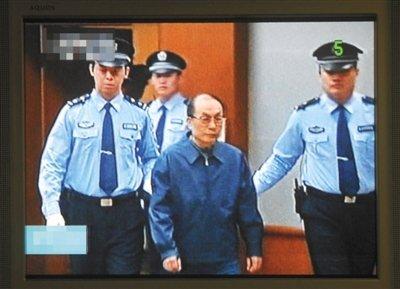 刘志军案今日上午宣判 律师称其未要求保证不死
