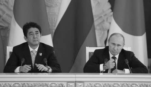 俄媒:安倍访俄欲分裂中俄关系 联手牵制中国