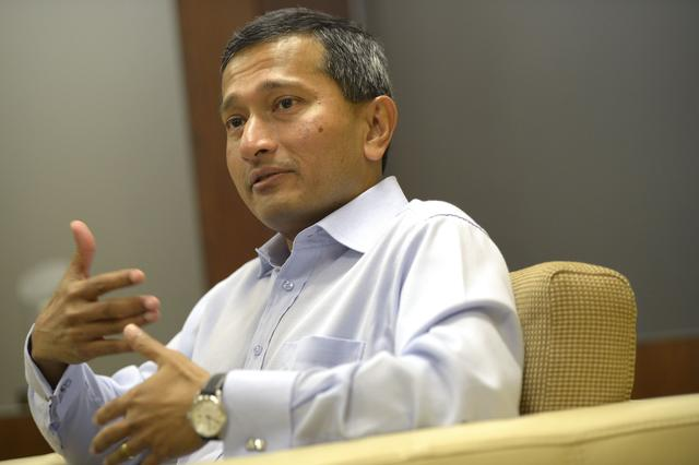 新加坡外长谈战车被扣:与台有特殊安排已不是秘密