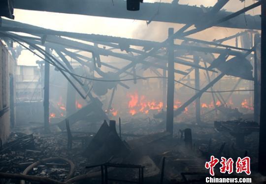 四川峨眉山某酒店火灾原因查明责任人被行拘10日