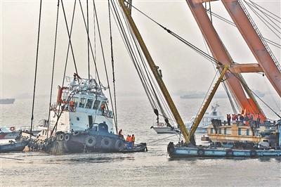 长江沉船事故因试验时操作不当所致 共22人遇难