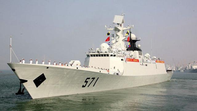 我海军地中海军演画面曝光 将赴俄罗斯联演