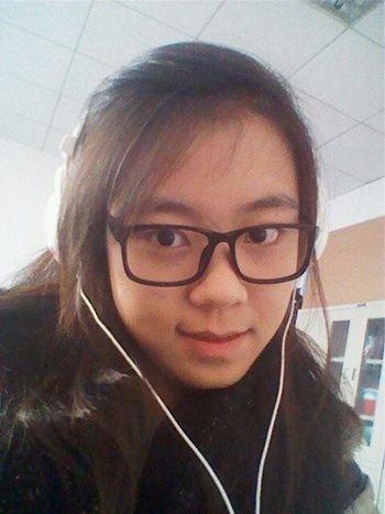 刘晓傲生前手机自拍照