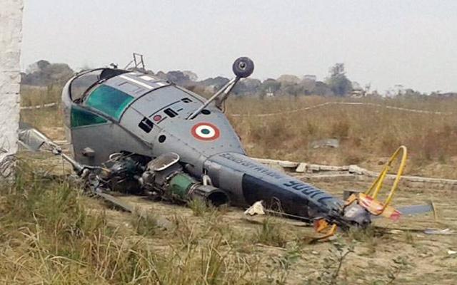 印度空军7年毁70余战机,现陆军参谋长摔里逃生