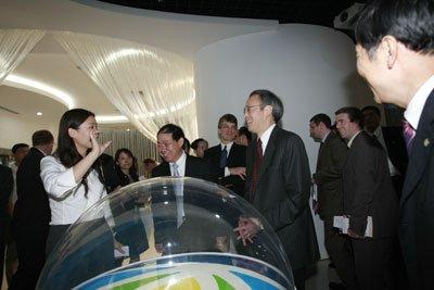 美国能源部长朱棣文访问新奥 寻求能源合作