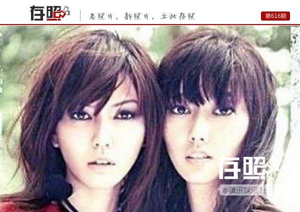 """揭秘明星们的""""双胞胎""""亲属:孙燕姿与妹妹难分辨"""