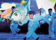 2006年,深圳非物质文化遗产鱼灯舞