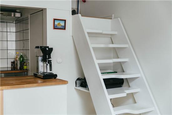 瑞典20平米温馨复古公寓 单身公寓就是要有个性