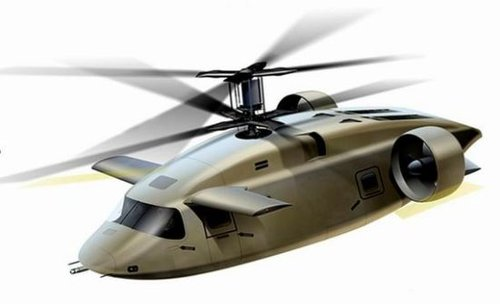 美军未来直升机露面:带翅膀时速超400公里(图