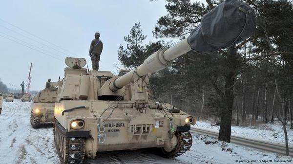 俄媒:美国会决定拨款46亿美元在欧洲对抗俄