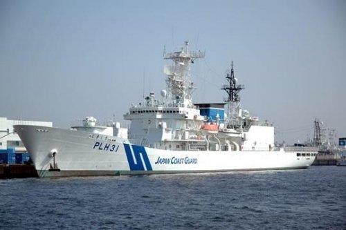 资料图:日本海保厅大型巡逻船