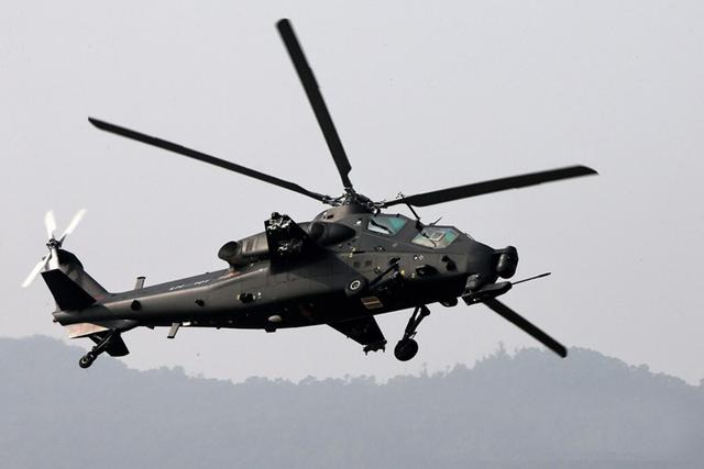 美媒称中国上百架武直-10服役:装备总量或超500架